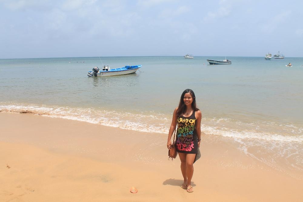Budget Carribbean - Little Corn Island Nicaragua - Tourist Main Pier