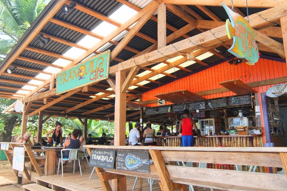 Budget Carribbean - Little Corn Island Nicaragua - Tranquilp Cafe