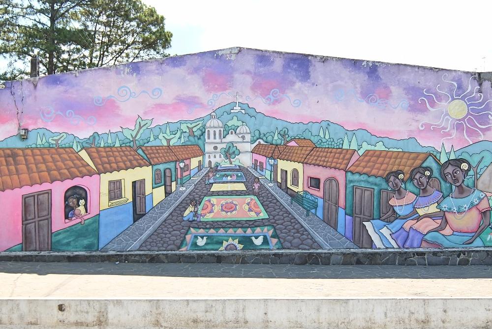 Ruta de las Flores El Salvador - Route of Flowers - Coffee Towns - Ataco Mural