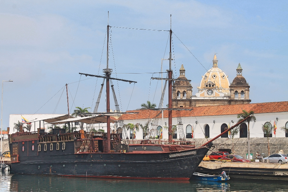 Cartagena Colonial Walled City Colombia - Bay of Souls