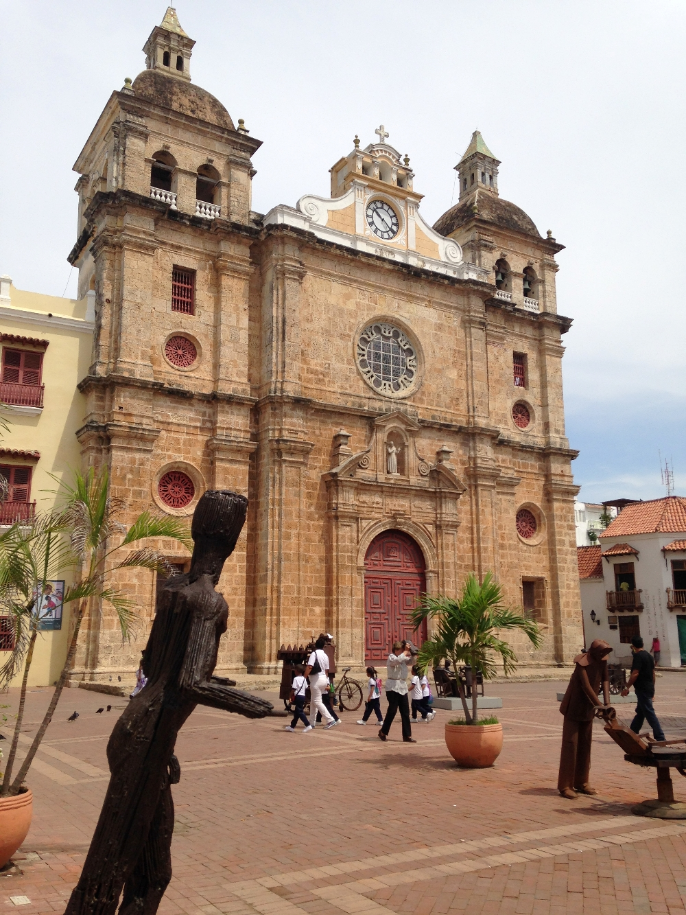 Cartagena Colonial Walled City Colombia - Church San Pedro Claver