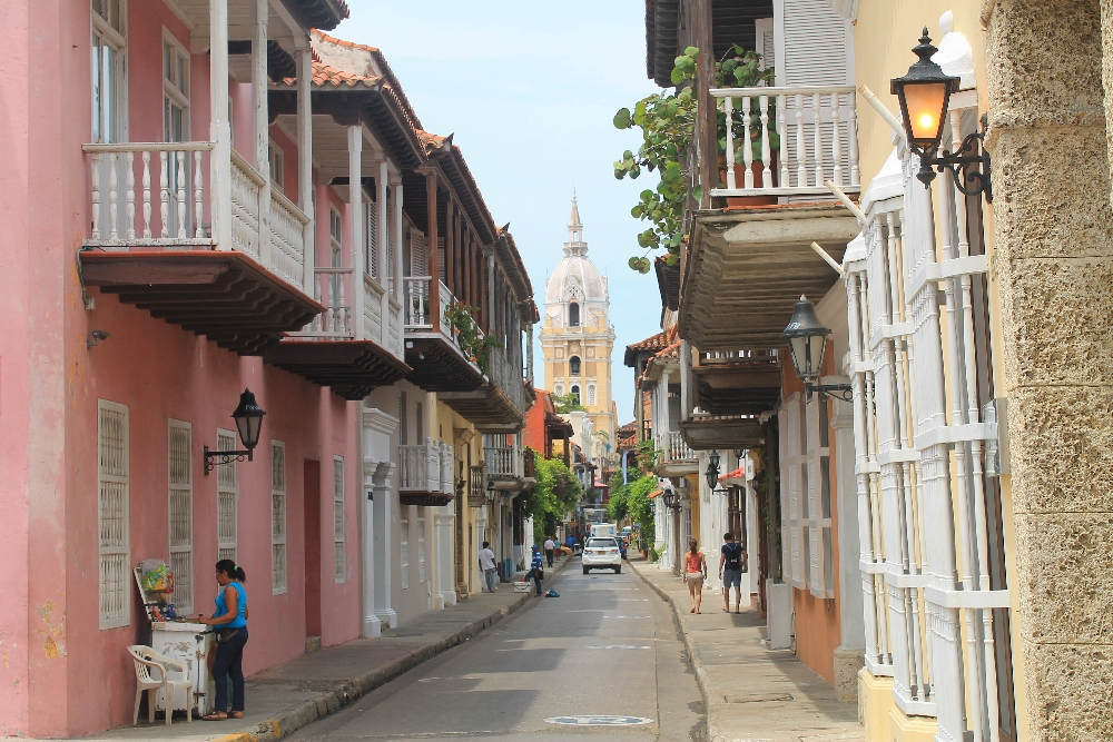 Cartagena Colonial Walled City Colombia - Street Photo