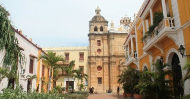 Cartagena Colonial Walled City Colombia - Iglesia San Pedo Claver