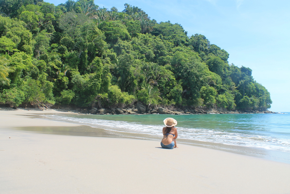 Day Trip Manuel Antonio National Park Costa Rica Beaches Wildlife Rainforest Playa