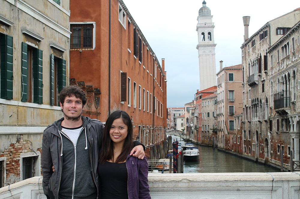Venice Romantic City Italy Love - Couple Travel Tourist