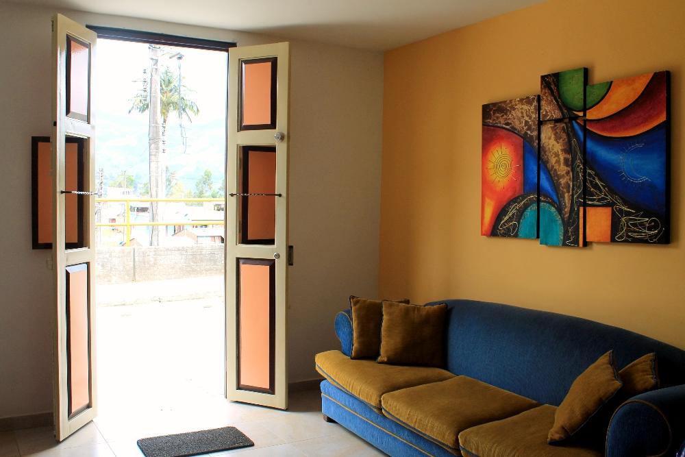 Casa Borbon Salento Colombia - Hotel Review - Reception