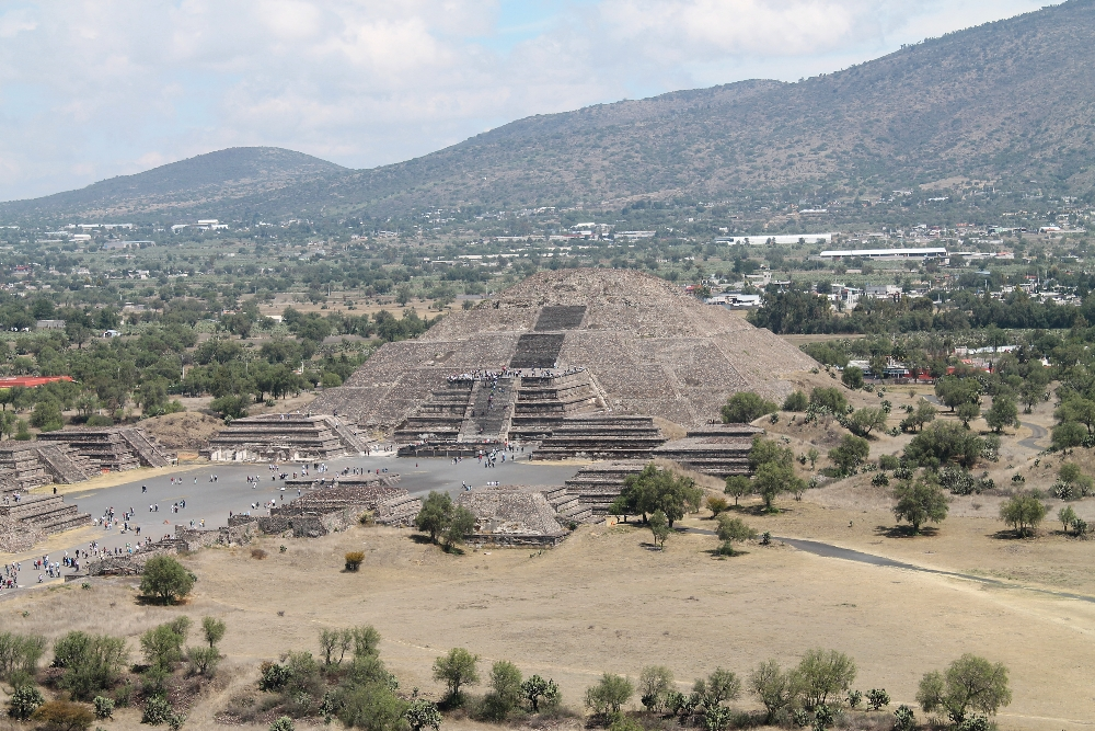 Teotihuacan Archaeological Ruins Near Mexico City