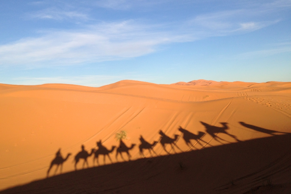 Romantic Journey around the World - Couple Travel - Sahara Desert Morocco