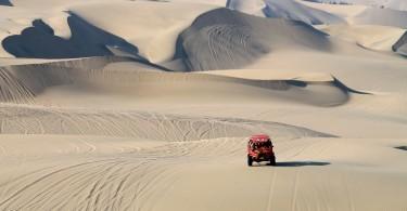 Dune Buggy Ride Sandboarding Huacachina Desert Oasis Peru