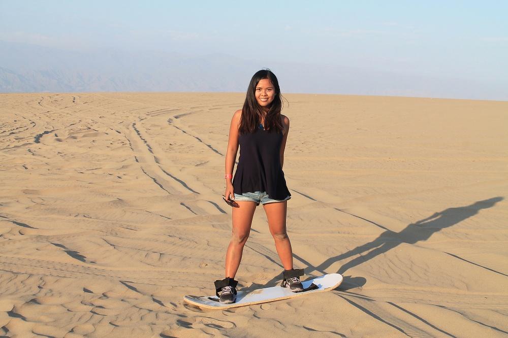 Dune Buggy Ride Sandboarding Huacachina Desert Oasis Peru - Tour