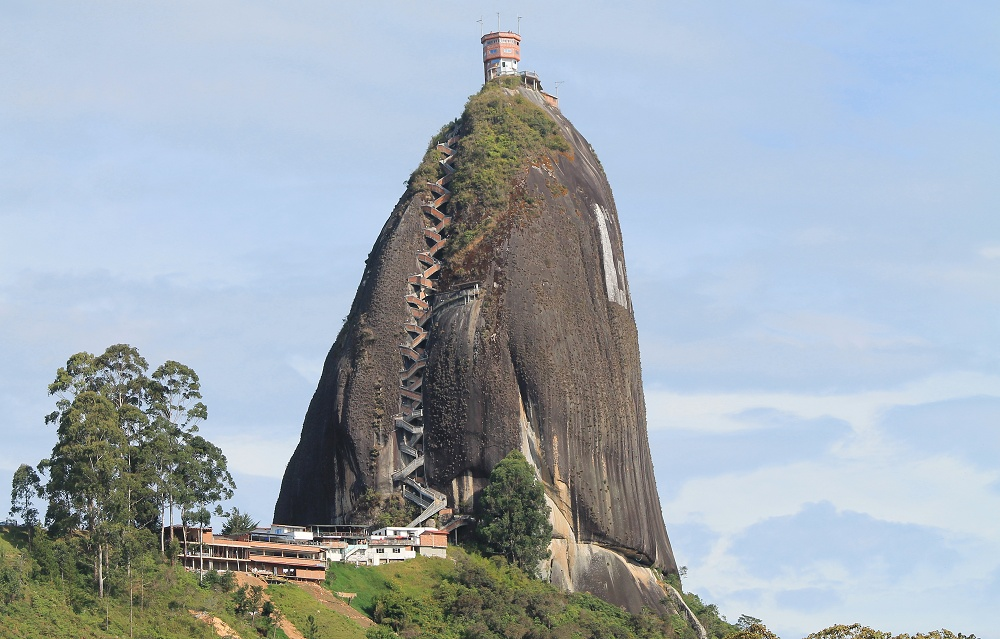 Guatape Rock El Penon - Top Places to See in Colombia