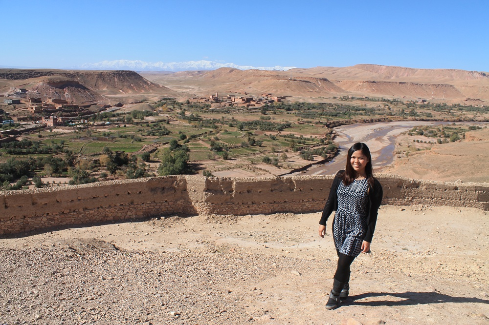 Female Travel Story - Backpacking Women - Ait Ben Haddou Morocco