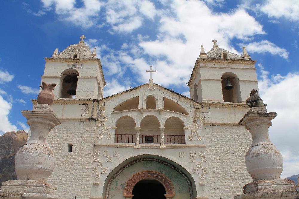 2 Days Colca Canyon Trek - Peru Hike - Church