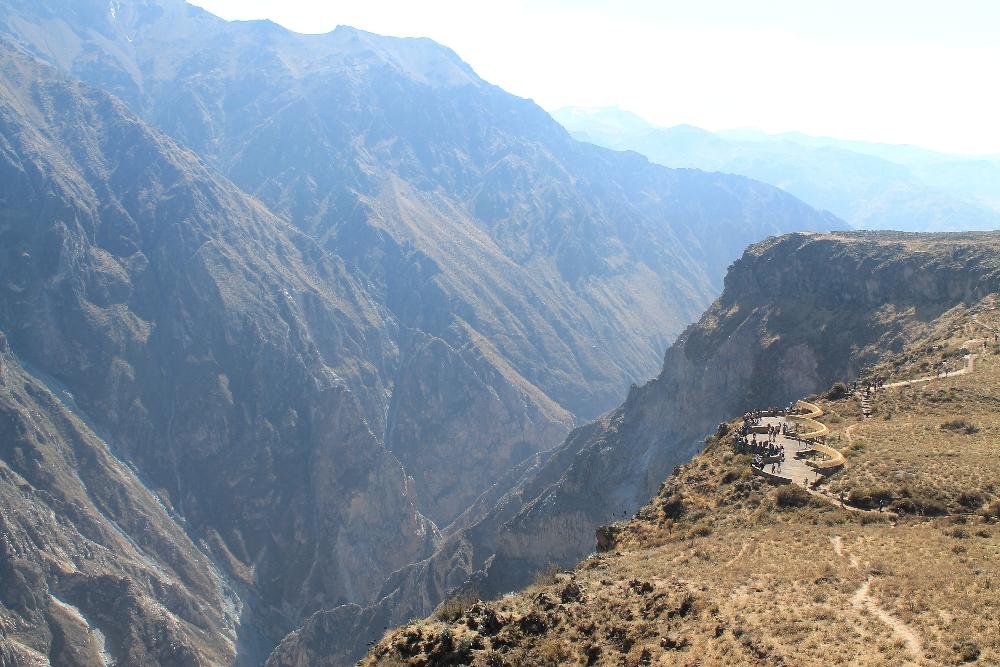 2 Days Colca Canyon Trek - Peru Hike - Condor Viewpoint