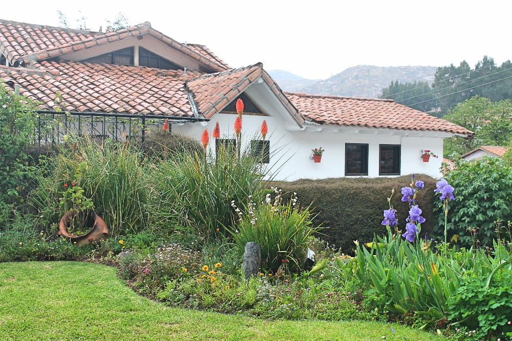 Bed and Breakfast Pension Alemana - Cusco Peru - Hotel Review - Garden View
