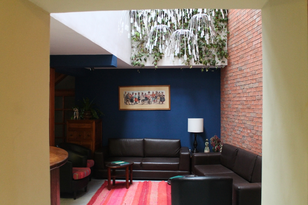 Bed and Breakfast Pension Alemana - Cusco Peru - Hotel Review - Living Room