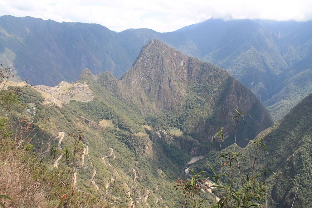 Exploring Wonder of the World Machu Picchu - Intipunku Sun Gate