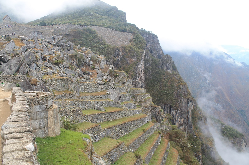 Exploring Wonder of the World Machu Picchu - Terraces