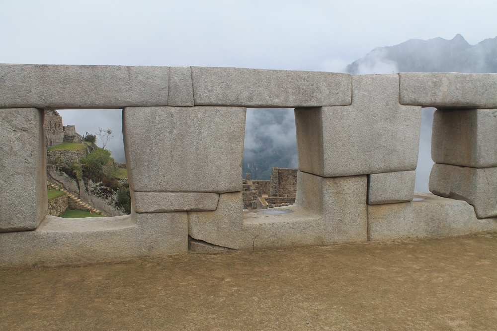 Exploring Wonder of the World Machu Picchu - Windows Structures