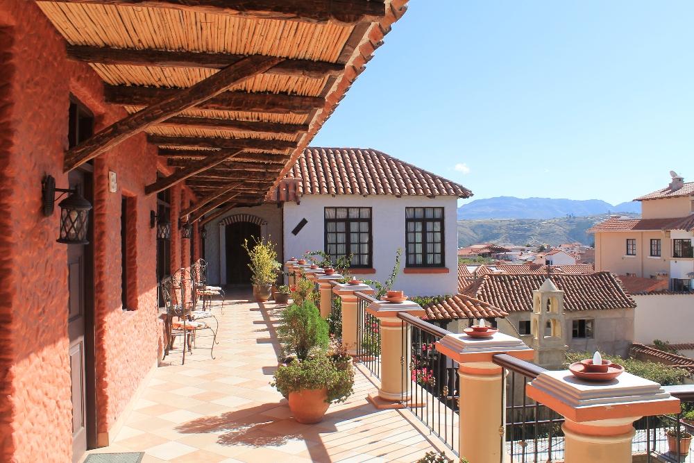 Mi Pueblo Samary Boutique Hotel - Sucre Bolivia - Review - Corridor