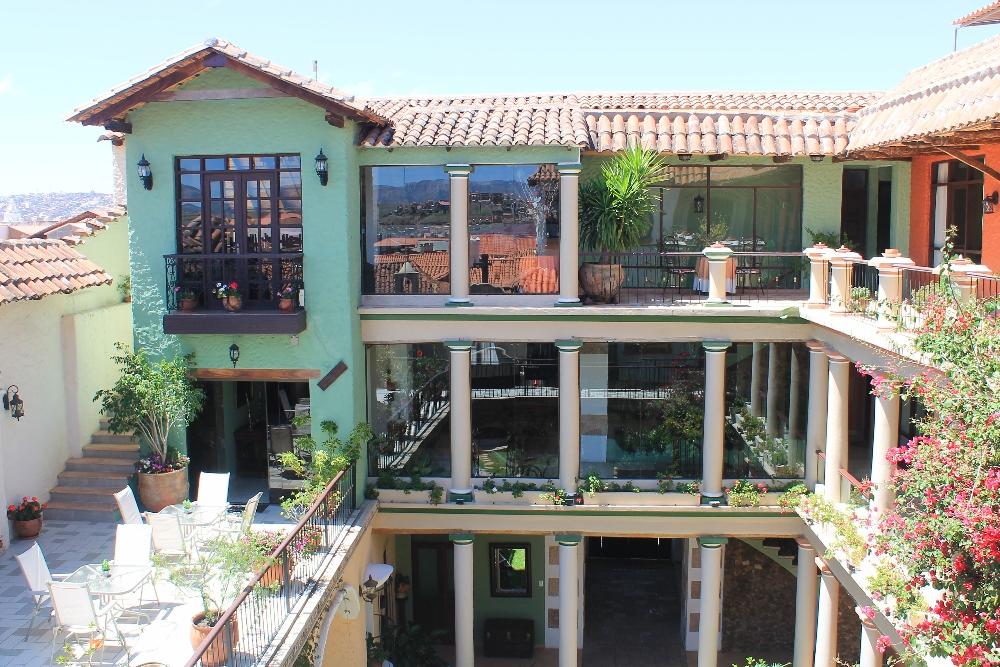 Mi Pueblo Samary Boutique Hotel - Sucre Bolivia - Review - Grounds