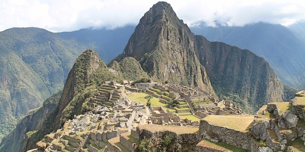 Wonder of the World Machu Picchu Peru