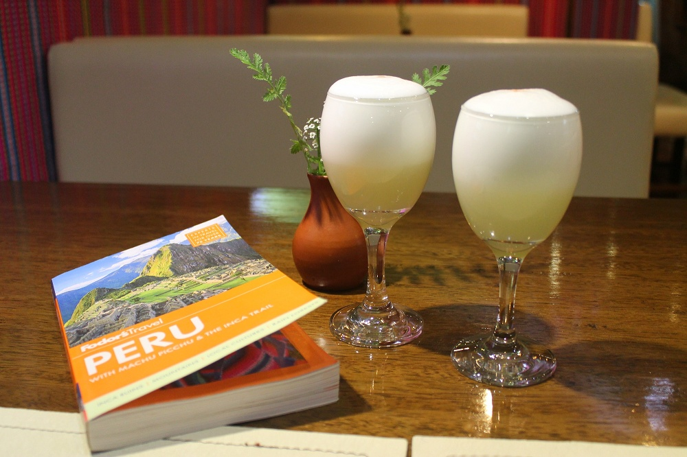 Bed and Breakfast Pension Alemana - Cusco Peru - Hotel Review - Welcome Drinks Pisco Sour