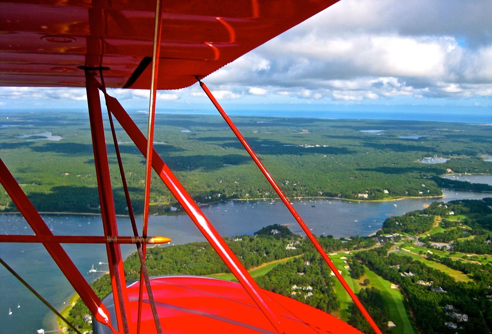 Scenic Flights around the World - Cape Cod Massachusetts USA