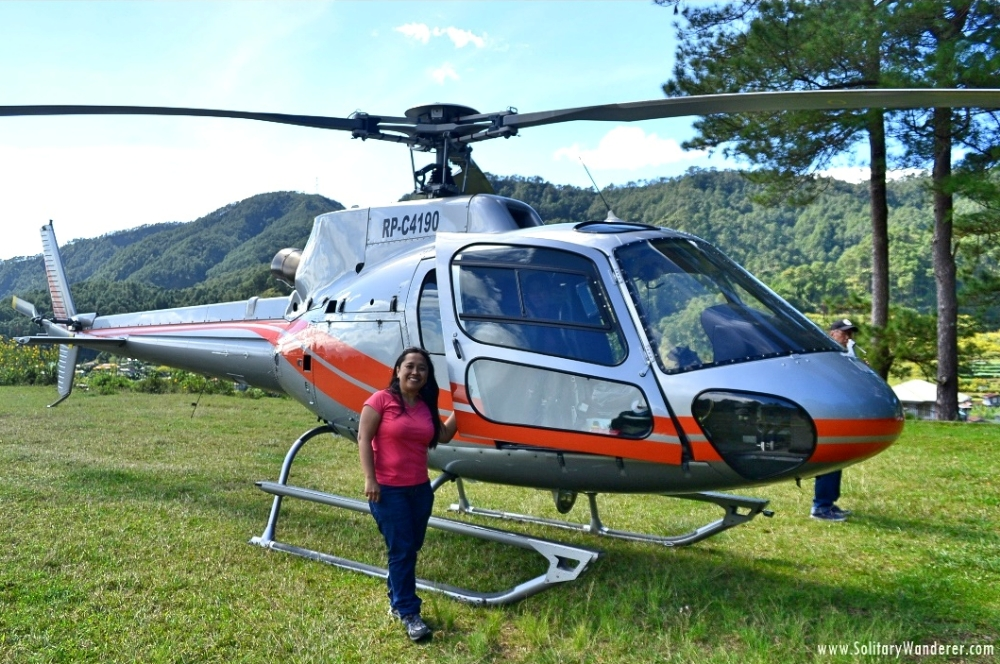 Scenic Flights around the World - Mountain Province Philippines Helicopter