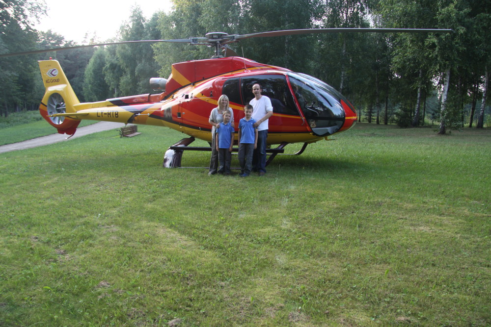 Scenic Flights around the World - Trakai Lithuania Helicopter