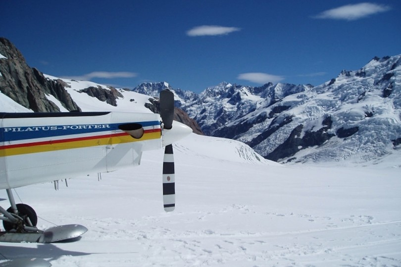 Scenic Flights around the World - Mount Cook New Zealand