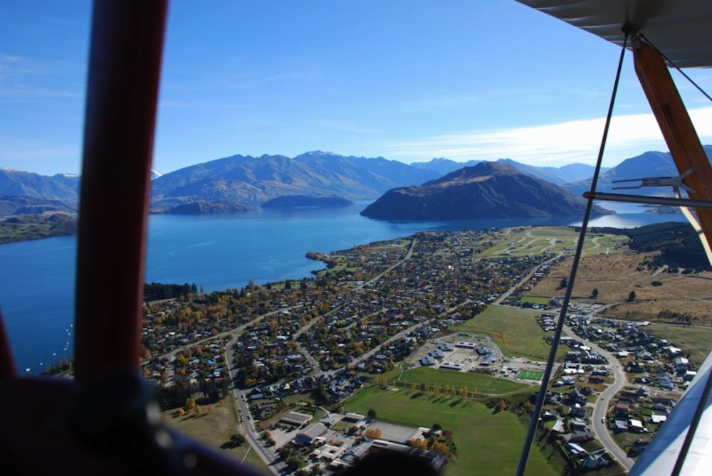 Scenic Flights around the World - Wanaka New Zealand