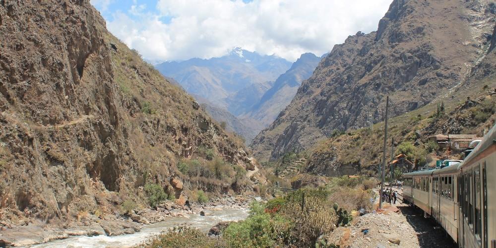 Inca Rail Scenic Train Ride to Machu Picchu Peru - Review
