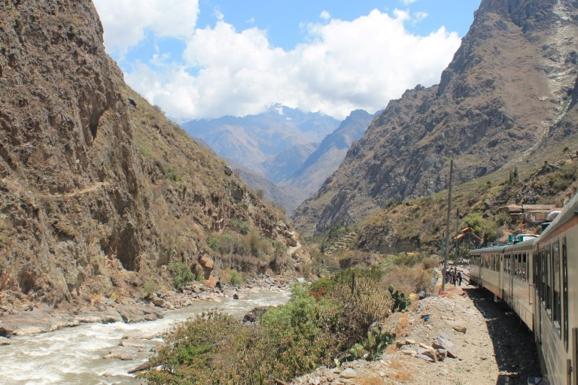 Inca Rail Scenic Train Ride to Machu Picchu Peru - Review
