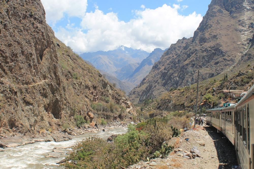 Exploring Wonder of the World Machu Picchu - Inca Rail Train Ride