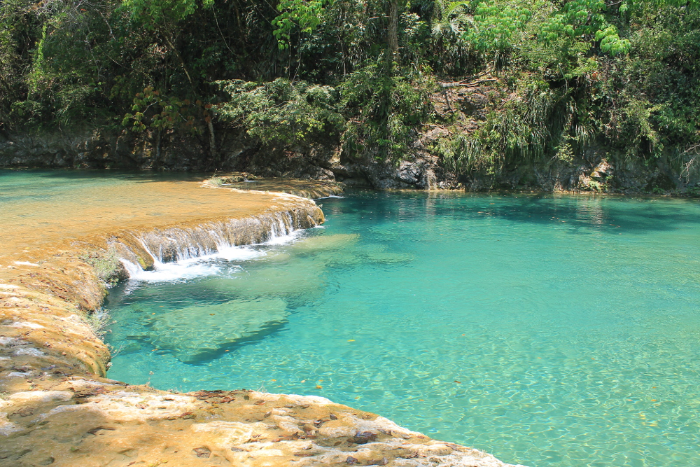 Romantic Journey around the World - Couple Travel - Semuc Champey Guatemala Pools