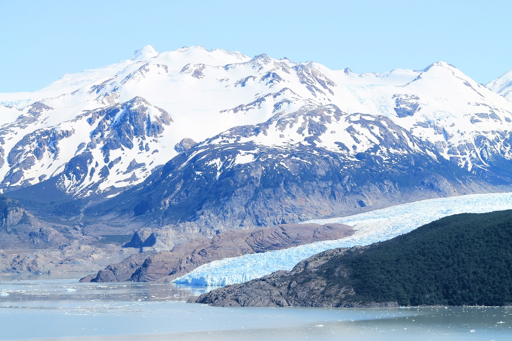 Torres del Paine W Trek 4 Days - Best Treks Patagonia - Grey Glacier