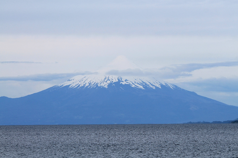 The Guest House - Puerto Varas Chile - Review - Volcano