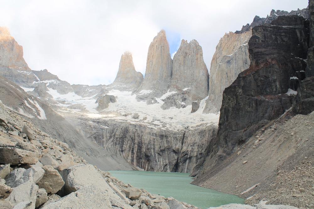 Torres del Paine W Trek Patagonia Chile - Las Torres