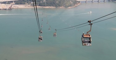 Ngong Ping 360 Lantau Cable Car Hong Kong - Crystal Cabin
