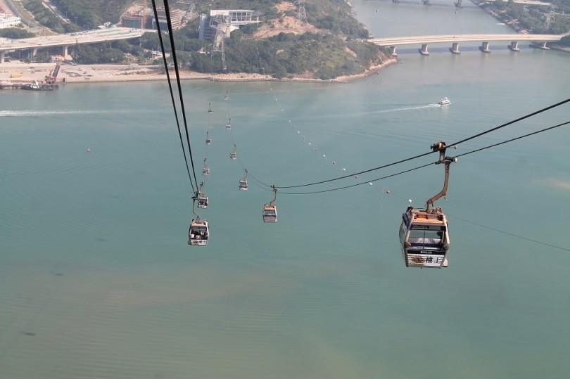 Ngong Ping 360 Lantau Cable Car Hong Kong - Crystal Cabin