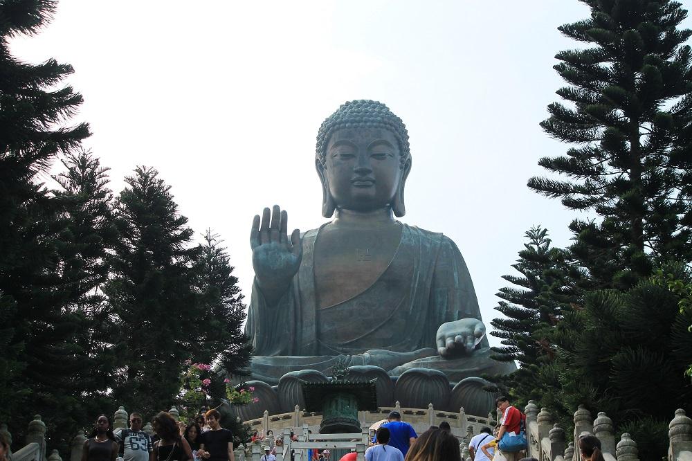Ngong Ping 360 Lantau Cable Car Hong Kong - Crystal Cabin - Tian Tan Buddha - Big Buddha