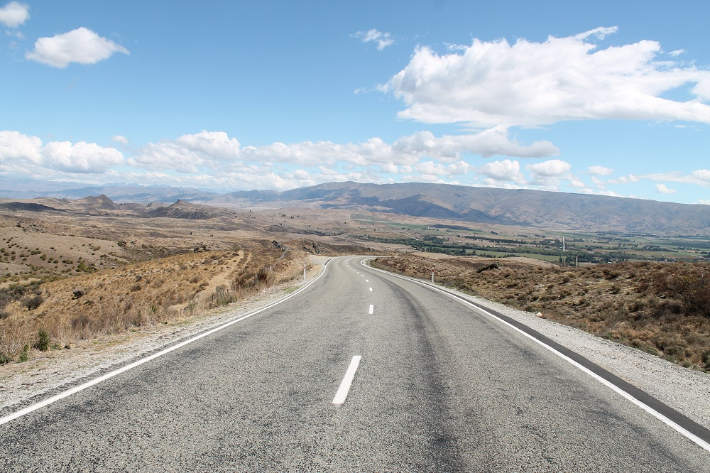 Central Otago New Zealand Road Photo