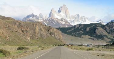 Best Road Photos around the World - El Chalten Argentina