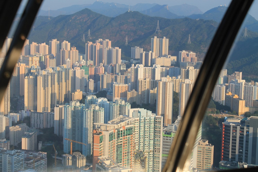 Helicopter Ride Heliservices Hong Kong China