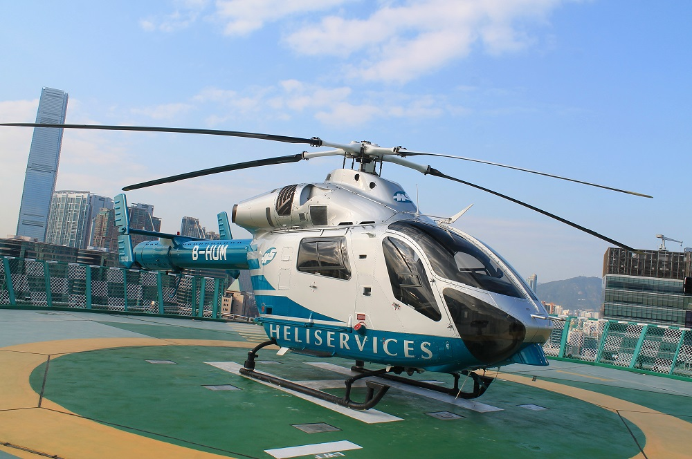 Helicopter - Scenic Flight in Hong Kong