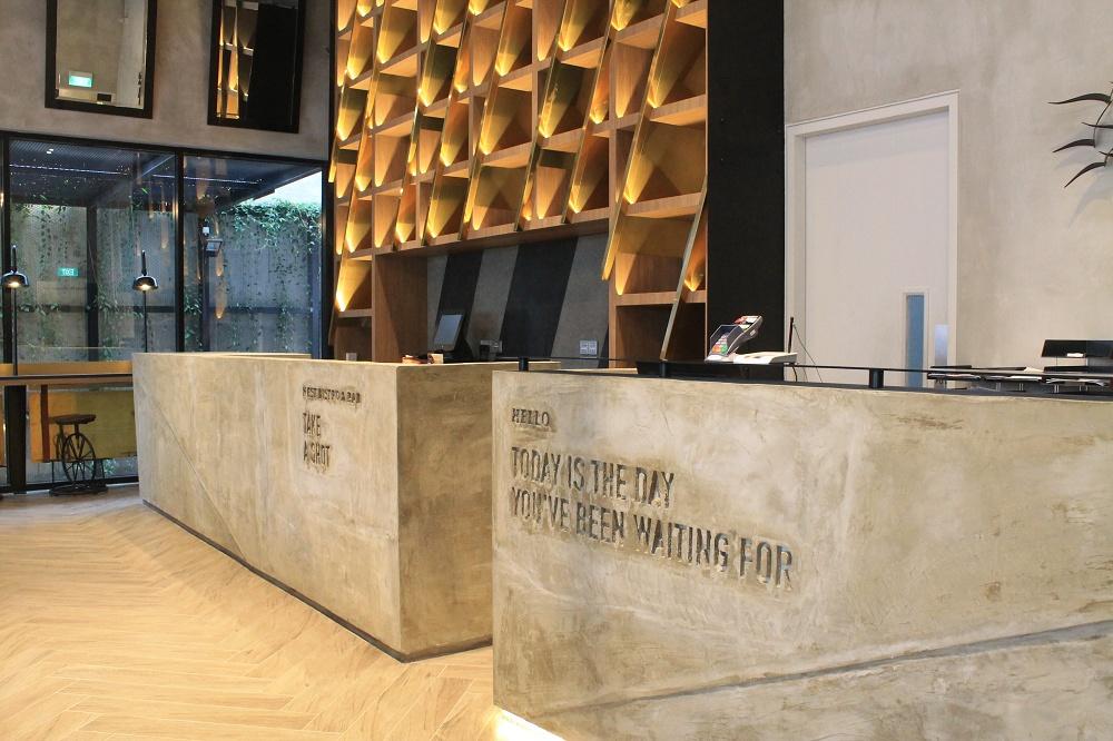 Hotel Yan Singapore Review - Reception