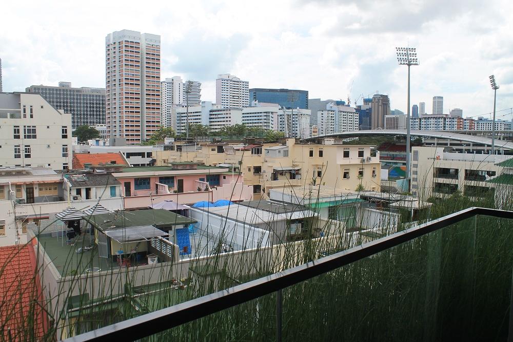 Hotel Yan Singapore Review - Balcony View