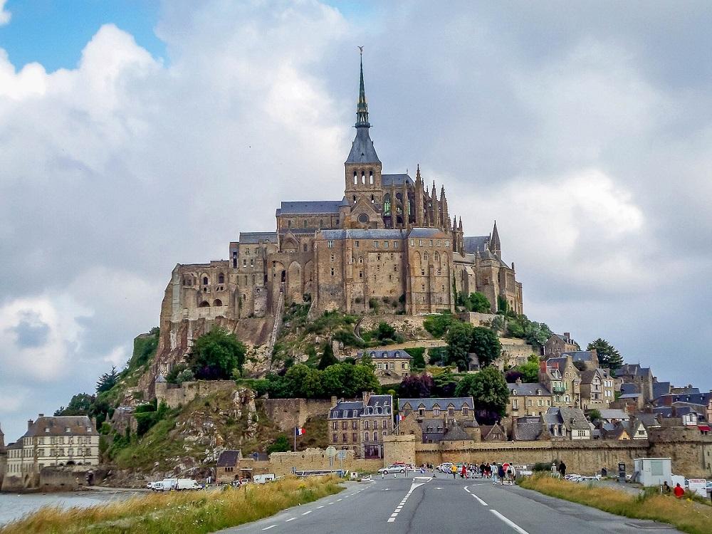 Best Road Photos around the World - Mont Saint Michel France