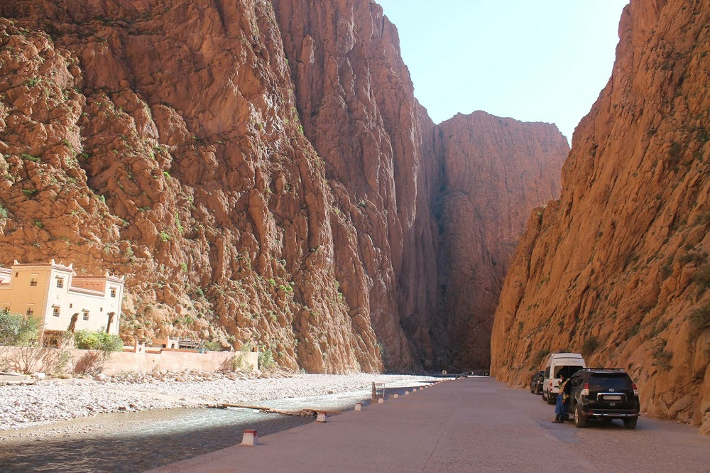 Best Road Photos around the World - Gorge Morocco